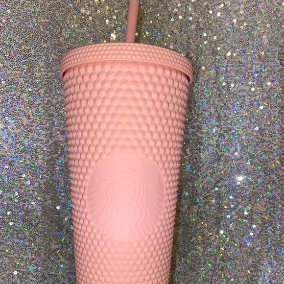 Pink Matte Starbucks Cup
